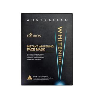 【澳洲直邮|包税包邮】eaoron水光针面膜急速美白淡斑保湿补水 黑面膜5片