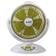 SINGFUN先锋 电风扇KYT30-10B(DK1003)花篮台式静音省电鸿运扇转页浅绿色台扇