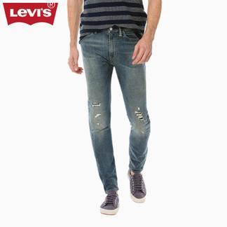 Levi's李维斯经典五袋款系列男士510紧身窄脚牛仔裤05510-0696