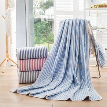花果果 加西亚毛巾被 全棉亲肤 透气舒适 简约大气
