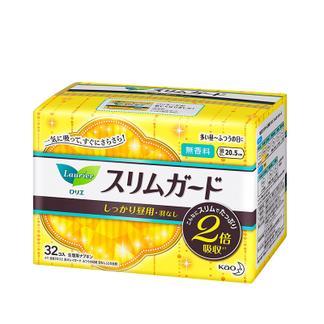 日本 花王卫生巾乐而雅S系列日用20.5厘米32片