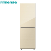 海信(Hisense)BCD-262WTG 262升 大双门冰箱 风冷无霜 玻璃面板 电脑控温(流光金)