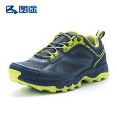 探路者越野跑鞋16秋冬运动跑步鞋男女轻便透气网面鞋KFFE91345