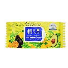 日本 Saborino 60秒早安懒人面膜  醒肤清洁滋养保湿 32枚/袋