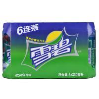 【天顺园店】雪碧六连包330ml*6(编码:251799)