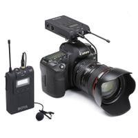 BOYA BY-UM48C单反无线采访录音话筒 手机直播录音领夹式麦克风