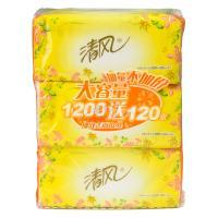 【超级生活馆】清风200抽卫生纸3包(编码:142012)