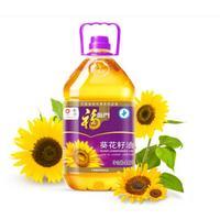 福临门 压榨一级充氮保鲜葵花籽油4.5L 中粮出品