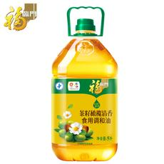 福临门食用油 茶籽橄榄清香调和油5L/瓶 中粮出品 非转基因