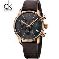 CK手表 瑞士正品三眼计时男表男款男士石英表K2G276G3