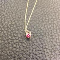 蒂爵18k金钻石项链