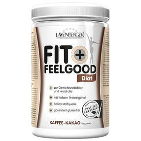 【德国直邮】[1罐] LAYENBERGER左旋肉碱 瘦 身 纤 体代餐蛋白粉FITFEL可可咖啡430G