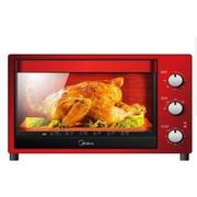 美的电烤箱T3-321C红色