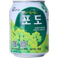 【天顺园店】九日牌葡萄果肉果汁饮料238ml(编码:589314)