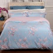 雅兰蓝调蔷薇床上四件套1.8床