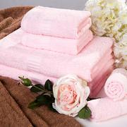 雅兰丽彩毛方浴巾三件套