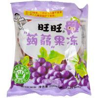 【天顺园店】旺旺蒟蒻果冻葡萄味200g(编码:595161)