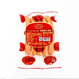 【正宗俄罗斯风味】俄罗斯风味纯肉儿童肠200克*3袋