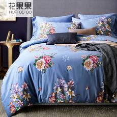 花果果 雅致风系列四件套 典雅风尚 精致印花