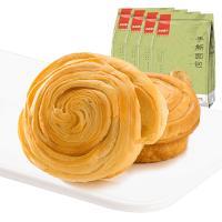 4袋组合の良品铺子手撕面包早餐点心零食小包装330g*4袋每袋约8个