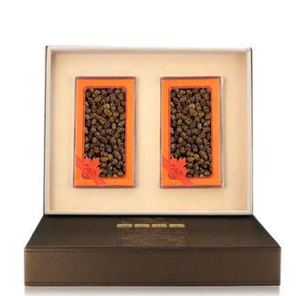 【国广315】胡庆余堂 铁皮枫斗礼盒 内有25克*2盒 铁皮石斛礼盒
