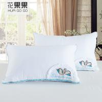 花果果 暖心鹅绒枕 全棉舒适 鹅印花 枕头枕芯 防潮隔热