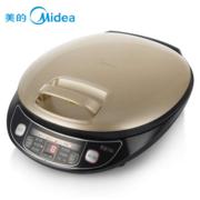美的(Midea)电饼铛电脑版煎烤双面悬浮加热蛋糕机煎烤 JSN32B卡其色
