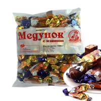 包邮俄罗斯进口斯拉夫人提子巧克力葡萄干巧克力士力架糖果年货糖果1000克/包