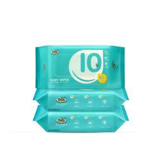 U-ZA婴幼儿护肤湿巾80片三联包X2(480片)