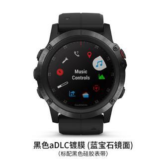【国广武商网315】GARMIN/佳明 fenix 5X Plus手表 黑色aDLC