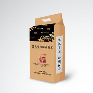 五常有机稻花香米2.5KG