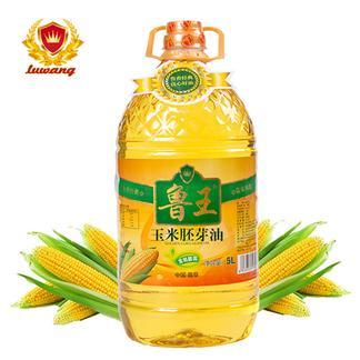 鲁王玉米油5L+500ML花生油体验装