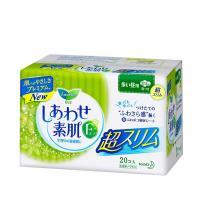 日本原装花王卫生巾 F系列敏感肌超薄日用护翼型22.5厘米 20片/包