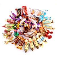 俄罗斯进口巧克力糖牛奶糖酥糖 混装糖果 喜糖 婚庆糖果1000克