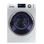 Hisense海信洗衣机XQG90-U1405YFJX 变频滚筒洗衣机 时尚外观 银色
