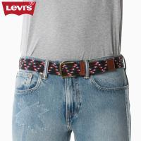 Levi's李维斯男士条纹编织针扣腰带38016-0124