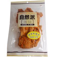 【超级生活馆】自然派沙爹牛肉干80g(编码:540696)