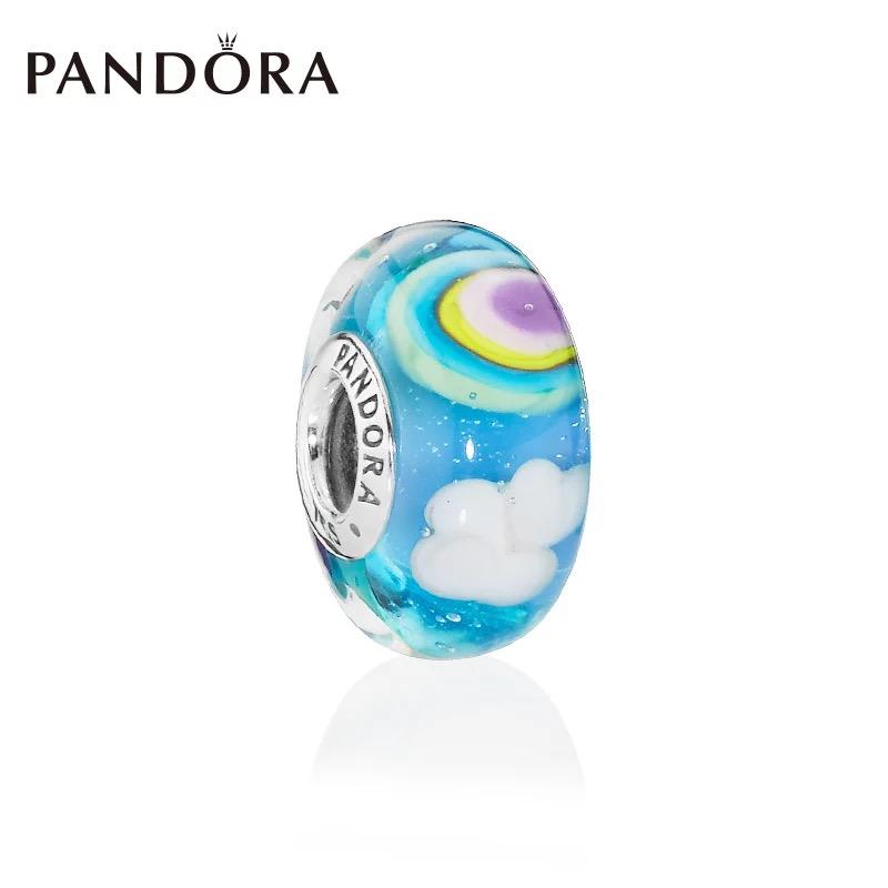 【春季限订新款】PANDORA潘多拉 缤纷彩虹琉璃串饰可爱DIY饰品 797013【下单采购】