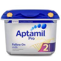 英国直邮 英国Aptamil爱他美白金版婴幼儿奶粉2段配方牛奶粉(6-12个月)800g