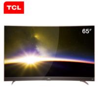 TCL电视 65P3 65英寸金属窄边曲面 49英寸 4K智能64位32核LED电视机