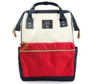 【香港直邮】日本 anello 经典款帆布包 双肩包