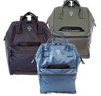 anello双肩包pvc全防水电脑包潮流休闲旅行背包