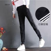 Adidas阿迪达斯女裤2018夏季运动裤阿迪针织长裤休闲裤子CX5174
