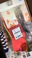 小猪班纳 红色袜子