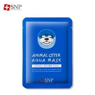 SNP爱神菲锁水保湿动物面膜(水獭)5片/盒