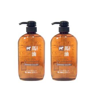 熊野油脂(咖思美)马油洗发水600ml*2瓶/套