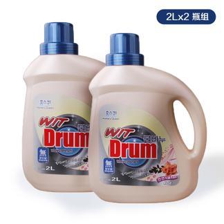 虹丝克润 玫瑰花洗衣液2L两瓶装