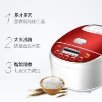 九阳(Joyoung) 电饭煲 家用智能预约多功能2-3人电饭锅3升JYF-30FE09 红色