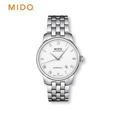 Mido美度瑞士腕表 贝伦赛丽钢带机械男表 M8600.4.26.1