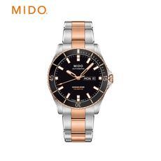 Mido美度领航者系列男表 间金钢带自动机械表 M026.430.22.051.00